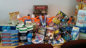 VFW Post 106 sent this care package to one of our deployed infantry units- Enjoy it, boys!